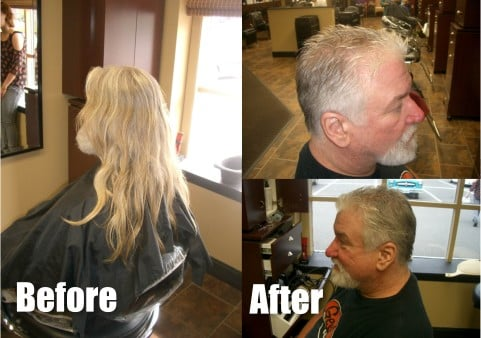 Ted Olinski Before and After