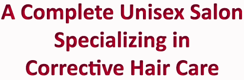 Specializing in Corrective Hair Care